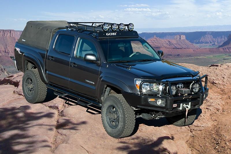 Gobi Toyota Tacoma 4 Door Double Cab Roof Rack