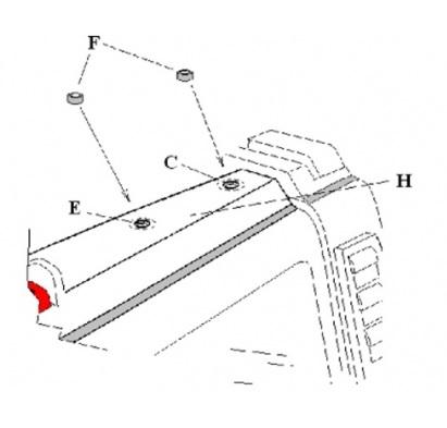 h2 dual ladder kit gobi hummer h2 6 foot roof rack