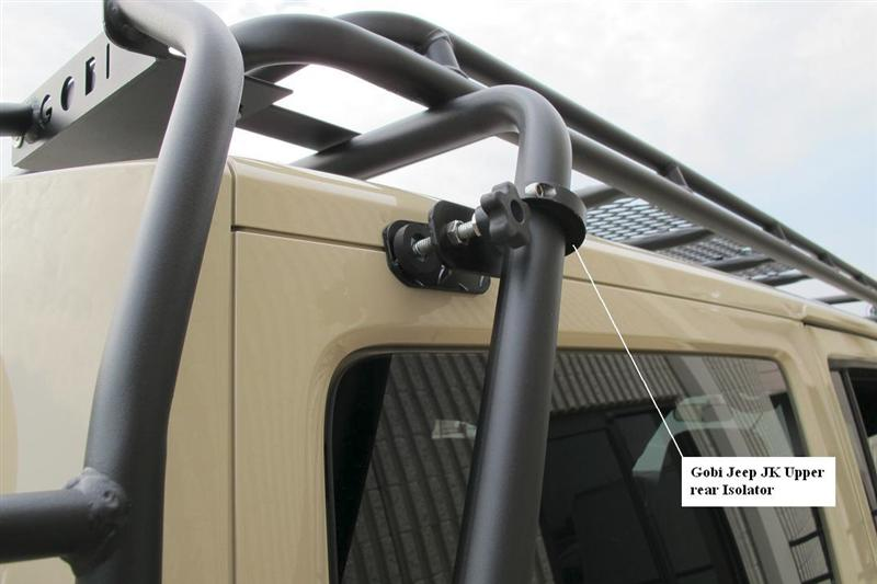 New From Gobi Jk Upper Roof Rack Isolators Available At