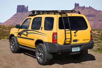 Gobi Nissan Xterra Rear Ladder