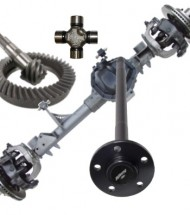 Driveline, Differential & Axle