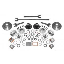 Alloy USA Jeep TJ/LJ, YJ, XJ 84-06 D30 Manual Locking Hub Kit w/Shafts