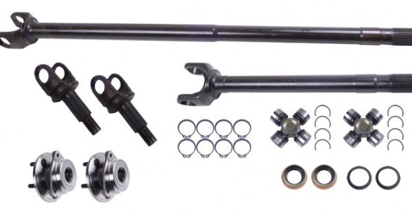 alloy usa jeep tj  lj  xj dana 30 front axle conversion kit