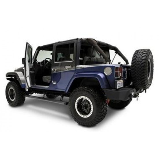 AMP Research Jeep JK 4DR 07-Up PowerStep Running Boards