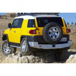 ARB Toyota FJ Cruiser 07-13 Rear Hitch Bumper in Black Powder Coat