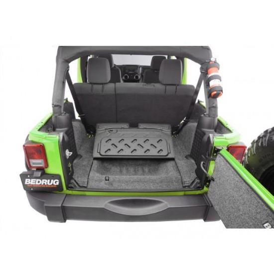 Bedrug Jeep JK 11-Up 4-Dr Rear Cargo Floor and Tub Liner Kit
