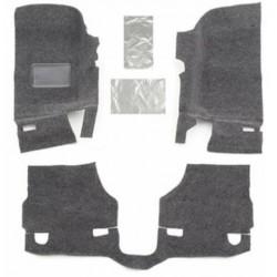 Bedrug Jeep JK 07-Up 2-Dr Front 3-Piece Floor Kit w/ Heat Shields