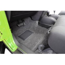 Bedrug Jeep JK 07-Up 4-Dr Front 5-Piece Floor Kit w/ Heat Shields
