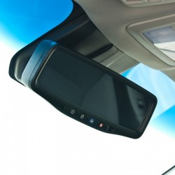 """Brandmotion GM/Chevy 07-14 GM OnStar Mirror with 3.5"""" Backup Monitor"""