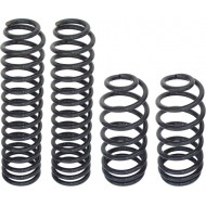 """Currie Enterprises Jeep TJ 4"""" Lifted Coil Springs - 4pc"""