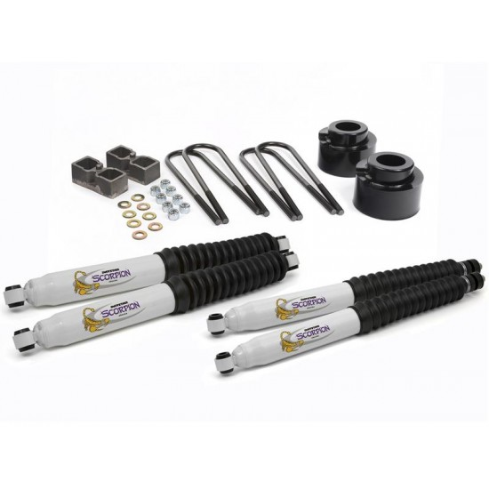 """Daystar Ford F250, F350 05-12 4WD 2.5"""" Lift Kit for Dana 60"""