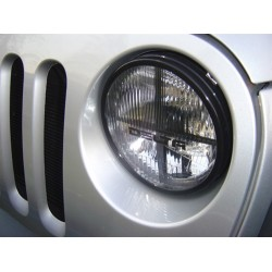 "Delta Jeep JK 7"" Round Quad Bar Xenon Headlamp Kit"