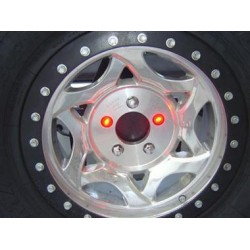 Delta Waterproof Lug Nut Light LED Pair