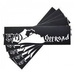 "EAD Offroad Small Regular Cut Vinyl Decal 4 1/2"" x 1 1/4"" 5-Pack"