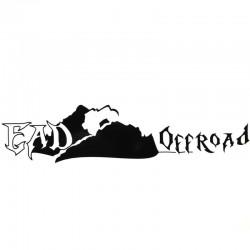 "EAD Offroad Medium Cut Vinyl Decal 7 3/4"" x 1 3/4"" (Black or White)"