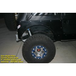 GenRight Jeep CJ7 76-86 Corner Guards Full Stretch Wheel Base