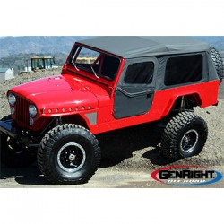 GenRight Jeep CJ8 81-86 Full Corner Guards Std Wheelbase
