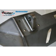 """GenRight Jeep JK 07-Up """"Stubby"""" Front Bumper (Steel or Aluminum)"""