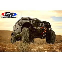 "GenRight Jeep JK 07-Up ""Stubby"" Front Bumper Carbon Fiber"