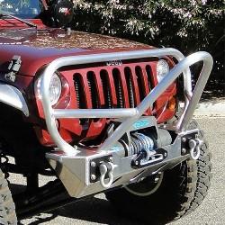 GenRight Jeep JK 07-Up Front Bumper Boulder Stinger  Aluminum