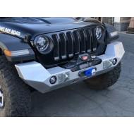 GenRight Jeep JL/JT Full Width Front Bumper (Aluminum)