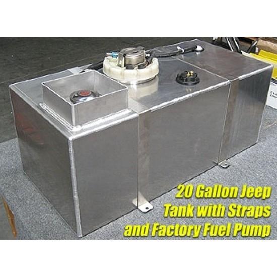 GenRight Jeep TJ/LJ 97-06 20 Gallon Fuel Cell