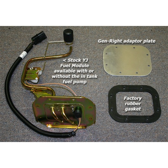 GenRight Jeep CJ7/CJ8 Crawler Enduro Extended Range Gas Tank