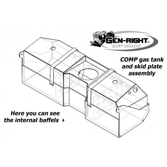 GenRight Jeep TJ/LJ 97-06 Crawler COMP Gas Tank
