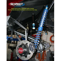 GenRight Front Air Bump Stop Kit for King 2.0