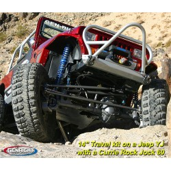 GenRight Jeep TJ/LJ, YJ, CJ7 Weld-On 3 Link Front Kit