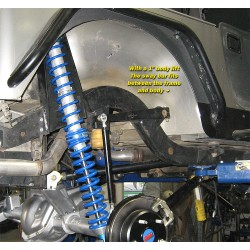 GenRight Jeep CJ7 Rear Sway Bar Kit