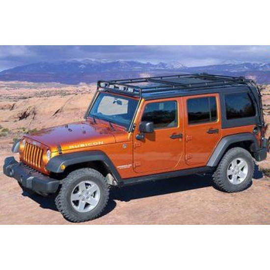 GOBI Jeep Wrangler Unlimited JK 07-Up 4 Door Roof Rack