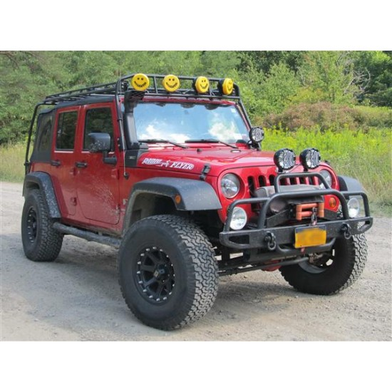 GOBI Jeep JK Support Bracket for Rugged Ridge Snorkel