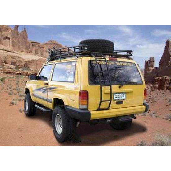 Jeep Roof Hoist: GOBI Jeep Cherokee XJ Rear Ladder