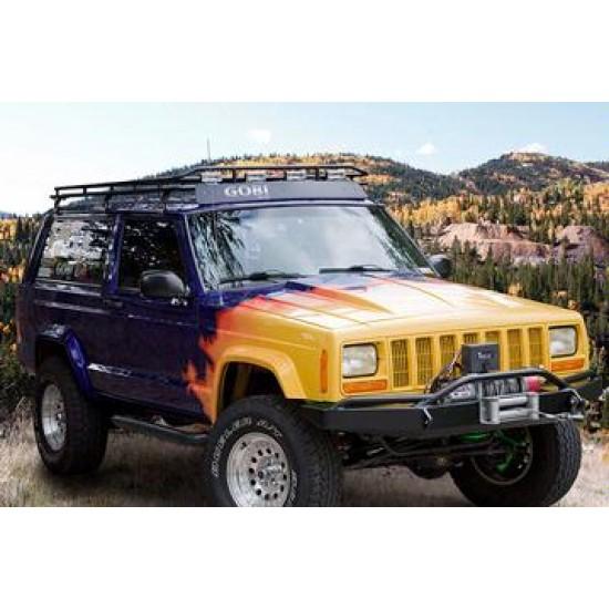 Jeep Cherokee XJ 84-01 Factory Hood Hinge Set Pair OEM