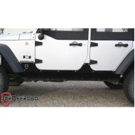 JcrOffroad Jeep JK 4DR Stage 1 Rock Sliders