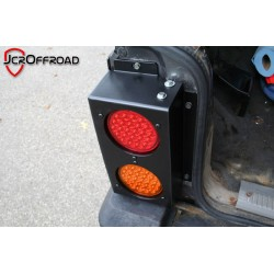 JcrOffroad Jeep XJ 96-Down Rear Upper Quarter Panel Guards