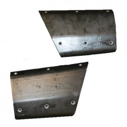 JcrOffroad Jeep XJ 97-Up Rear Lower 1/4 Panel Armor Cut