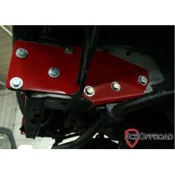 JcrOffroad Jeep XJ 84-01 Uniframe Tie-in Kit w/Steering Spacer