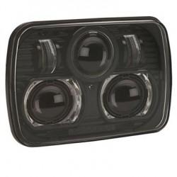 J.W. Speaker YJ 87-95, XJ 84-01 Evolution 8900 LED Headlight Black