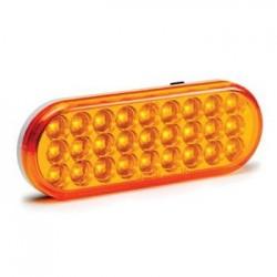 "KC HiLiTES 6"" Oval LED Turn Signal Amber"