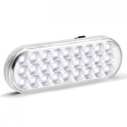 "KC HiLiTES 6"" Oval LED Backup Light White/Blue"