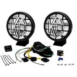 """KC HiLiTES 5"""" Apollo Pro Series Long Range Light Kit Black"""