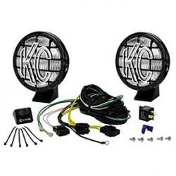 "KC HiLiTES 5"" Apollo Pro Series Fog Light Kit Black"