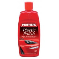 Mothers Plastic Polish 8 oz
