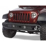 Olympic 4x4 Jeep JK 07-Up Front Boa Bumper Basic