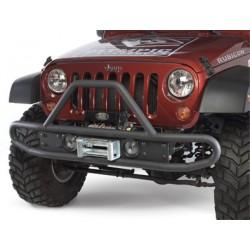 Olympic 4x4 Jeep JK 07-Up Front Boa Bumper w/ Top Hoop