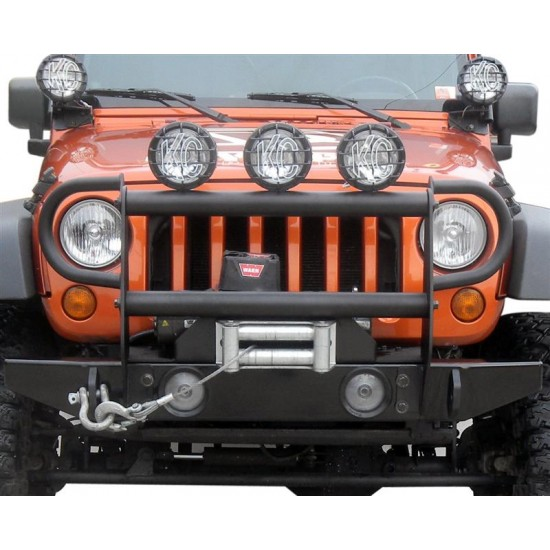 "Olympic 4x4 Jeep JK 07-Up Configurable Front 54"" Rock Bumper"