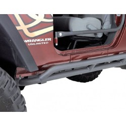 Olympic 4x4 Jeep JK 07-Up 2-Dr Double Reversa Side Bars