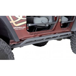 Olympic 4x4 Jeep JK 07-Up 4-Dr Double Reversa Side Bars